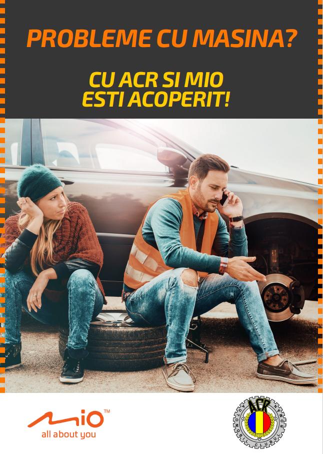 Cu Mio, participanții la Salonul Auto București pot deveni membri ACR