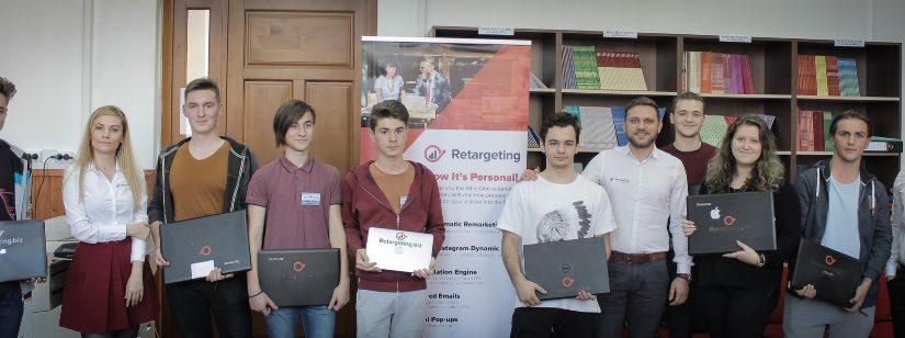 Echipa Retargeting.biz susține dezvoltarea tinerilor din România