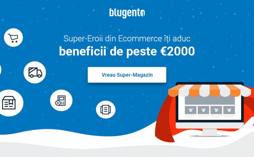 Magazinele online vor tranzacționa în 2019 peste 60 de milioane de lei prin platforma Blugento