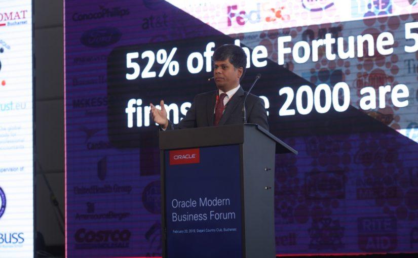 Oracle Modern Business Forum București Timpul schimbării mentalității liderilor de business