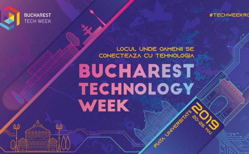 Festivalul Bucharest Tech Week aduce inovațiile tehnologice în atenția românilor pentru al patrulea an consecutiv