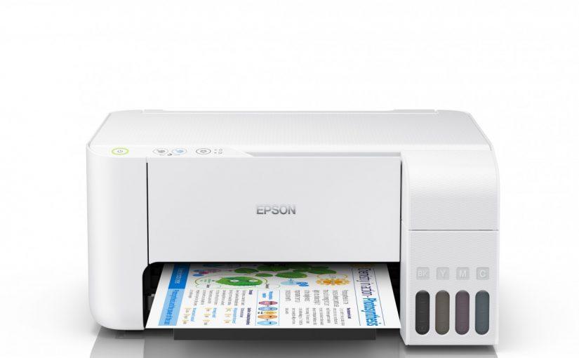 Epson lansează multifuncţionalele EcoTank compacte, albe