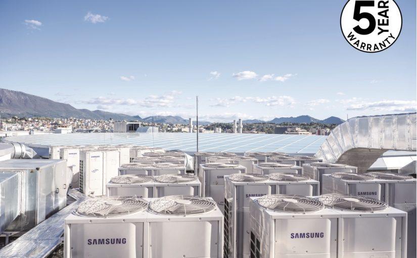 Samsung extinde garanția soluțiilor de climatizare și lansează gama comercială completă cu R32