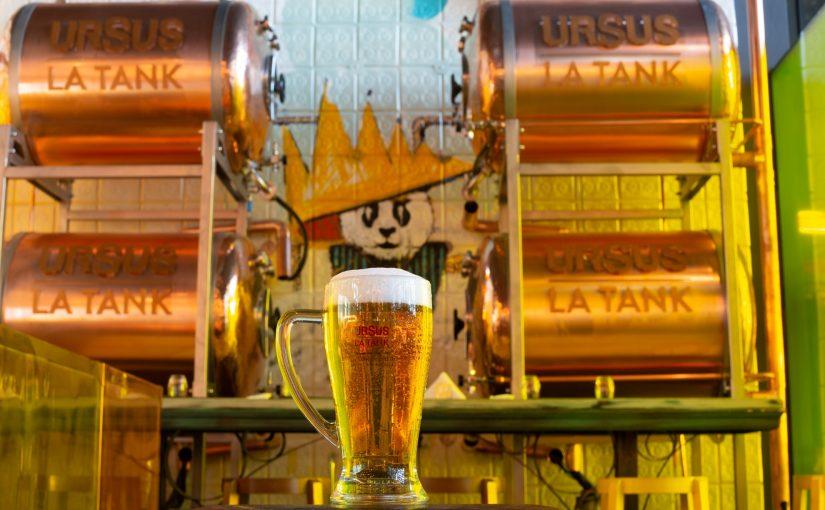 URSUS lansează URSUS Tank, cea mai proaspătă bere nepasteurizată livrata direct din fabrică în locații selectate