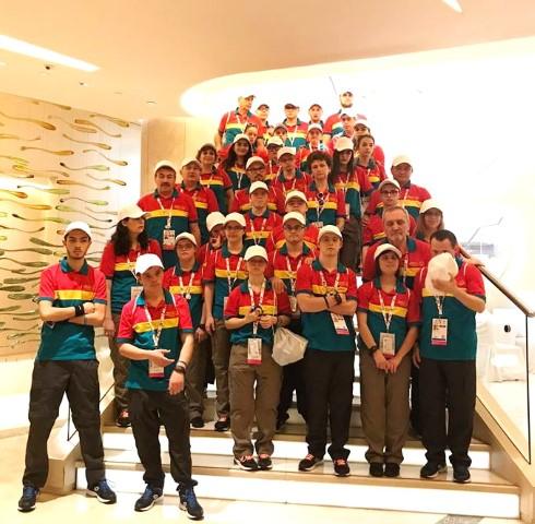 56 de medalii pentru delegatia Romaniei la Jocurile Mondiale de Vara Special Olympics, Abu Dhabi 2019