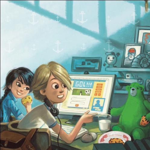 Kaspersky Lab lanseaza in Romania o carte de povesti menita sa contribuie la educarea copiilor privind pericolele din mediul online